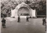 Танцевальная площадка в г. Саки, 1950-1960 г.