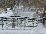 Зимняя сказка на Лебедином озере