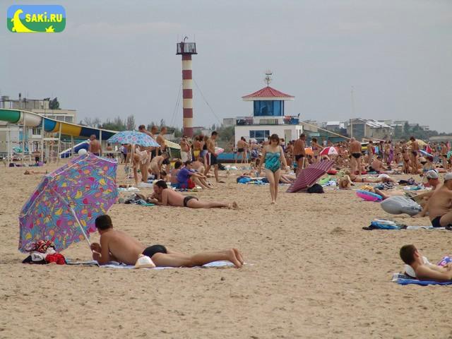Пляж базы отдыха «Прибой»