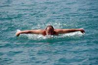 В Крыму стартовал 90-километровый заплыв ко Дню независимости, 22 августа 2009