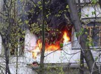В Новофедоровке 15 человек эвакуированы из горящей пятиэтажки