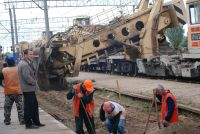 Реконструкция ж/д вокзала Саки