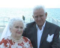 Супруги Вишняковы отметили золотую свадьбу, 12 октября 2009