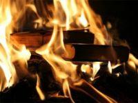 В Михайловке горело школьное книгохранилище, 31 октября 2009