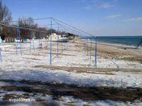 В Евпатории на зиму консервируют пляжи