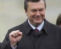 Янукович в Саках