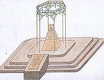 Памятник жертвам депортации в Саках, 18 января 2010