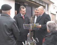 Виктор Плакида с рабочим визитом посетил город Саки