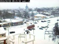 В Сакском районе из-за снегопада остались без электричества 35 сел, 3 февраля 2010