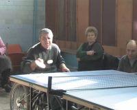 Турнир по настольному теннису среди инвалидов