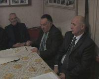 В Совете ветеранов обсудил подготовку ко Дню Победы.