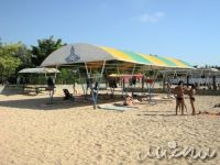 """Евпаторийские пляжи получили """"Голубые флаги"""", 17 мая 2010"""