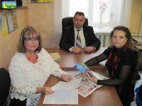 Работу РИП г.Саки проверила комиссия Николаевского межрегионального института, 24 мая 2010