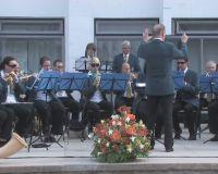 Духовой оркестр из Австрии в Саках, 24 мая 2010