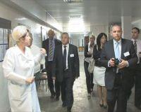 Польская делегация посетила город Саки