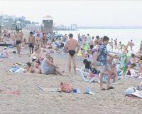 В Саках отдыхающих на четверть больше, чем в прошлом году, 1 августа 2010