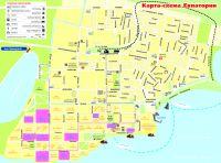 Туристические карты Евпатории раздадут бесплатно