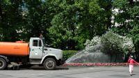 Саки приобрел машину для уборки и полива улиц