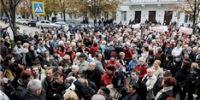 В Севастополе протестовали против взносов в пенсионный фонд