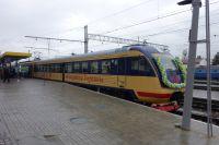 Скоростной электропоезд Симферополь-Севастополь