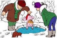 Слёт «моржей» в Саках