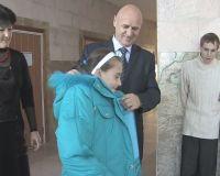 Акция сакского горсовета «Верхняя одежда», 14 декабря 2010