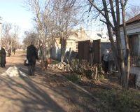 Борьба за чистоту сакских улиц