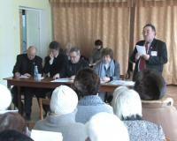 Прошел пленум совета ветеранов Саки