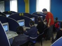 Власти Саки прикрыли компьютерные клуба из-за школьников-прогульщиков, 9 марта 2011