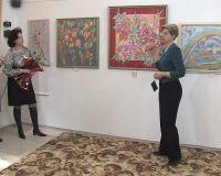 Выставка батика в Саки