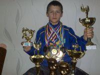 Ярослав Иванов получил удостоверение кандидата в мастера спорта