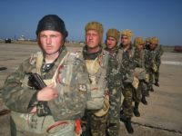Учебный сбор батальона морской пехоты в Саках