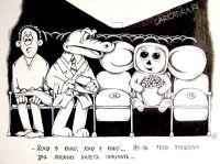 В Евпатории открыли бесплатный летний кинотеатр, 21 июля 2011