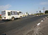 На въезде в Евпаторию закончилась реконструкция транспортной развязки
