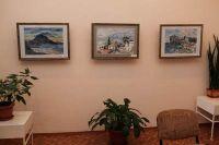 Художественная выставка в Сакском музее грязелечения