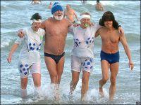 В декабре в Саках пройдет Международный слет моржей