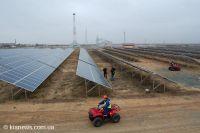 В селе Охотниково заработала крупнейшая солнечная электростанция