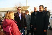 Аграрный министр Крыма посетил сельхозфирмы Сакского района
