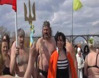 Сакские моржы на слете в Днепропетровске