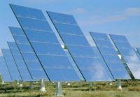 В селе Митяево Сакского района построили 30-ти мегаваттную солнечную электростанцию, 20 апреля 2012