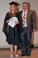 Студенты университета «Украина», проживающие в Саках и Евпатории, получили дипломы о высшем образовании!