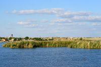 Дамба озера Сасык-Сиваш под Саками требует ремонта