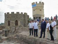 Председатель Совмина Крыма посетил скифское городище «Кара-Тобе»