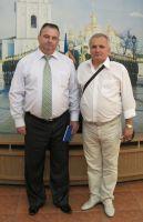Встреча В.Шевцова с председателем болгар Крыма, 26 августа 2012