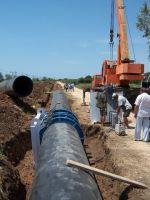 Завершается прокладка первой очереди водовода для Евпатории