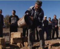 В селе Охотниково Сакского района начали строить мечеть, 25 октября 2012
