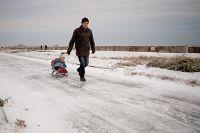 24 декабря в Саках последняя декабрьская атака морозов, 24 декабря 2012