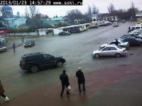 Вебкамера города Саки заработала!, 23 января 2013