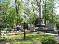 69-й годовщина освобождения Саки от немецко-фашистских захватчиков