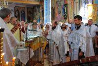 Праздничный молебен в Свято-Ильинском храме, 2 августа 2013
